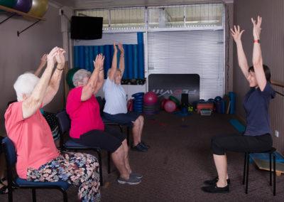 Step-Safe Balance Class at the Sandgate Physical Health Clinic