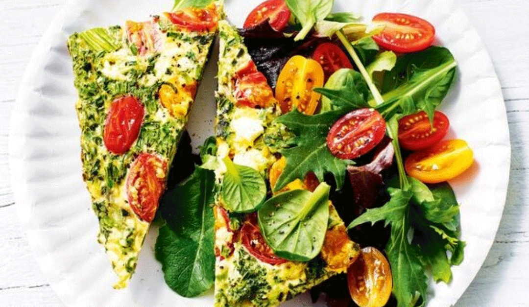 Healthy Summer Frittata Recipe