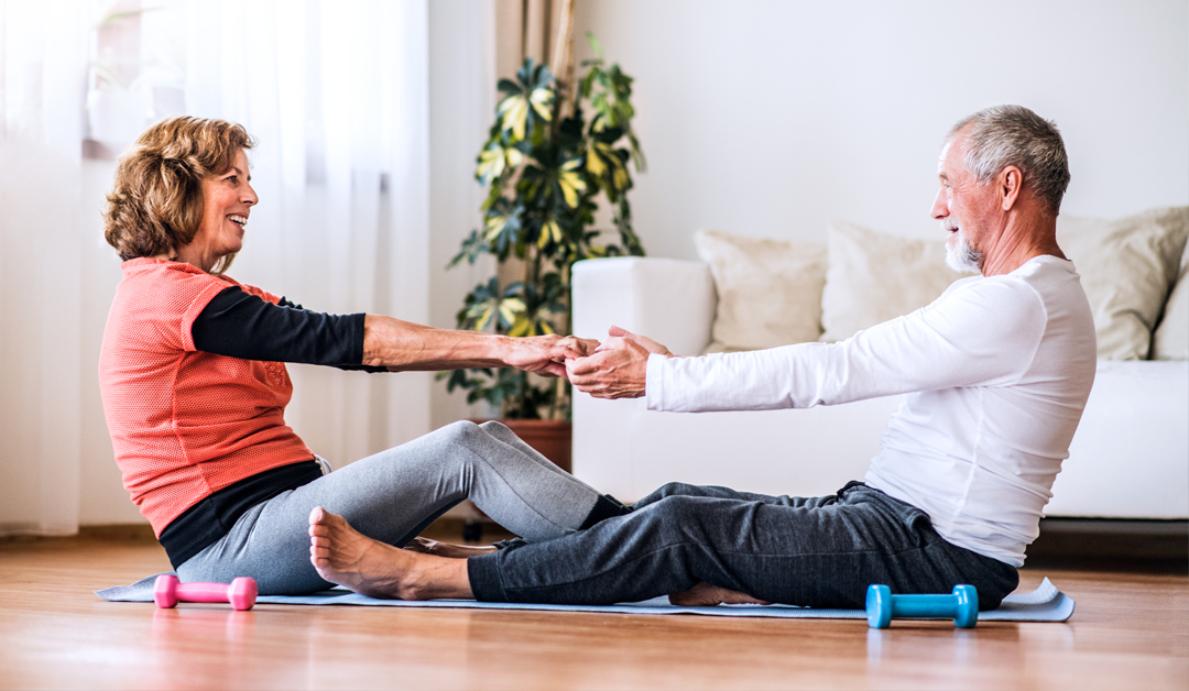 Simple Exercise Routines for any Age to do at Home