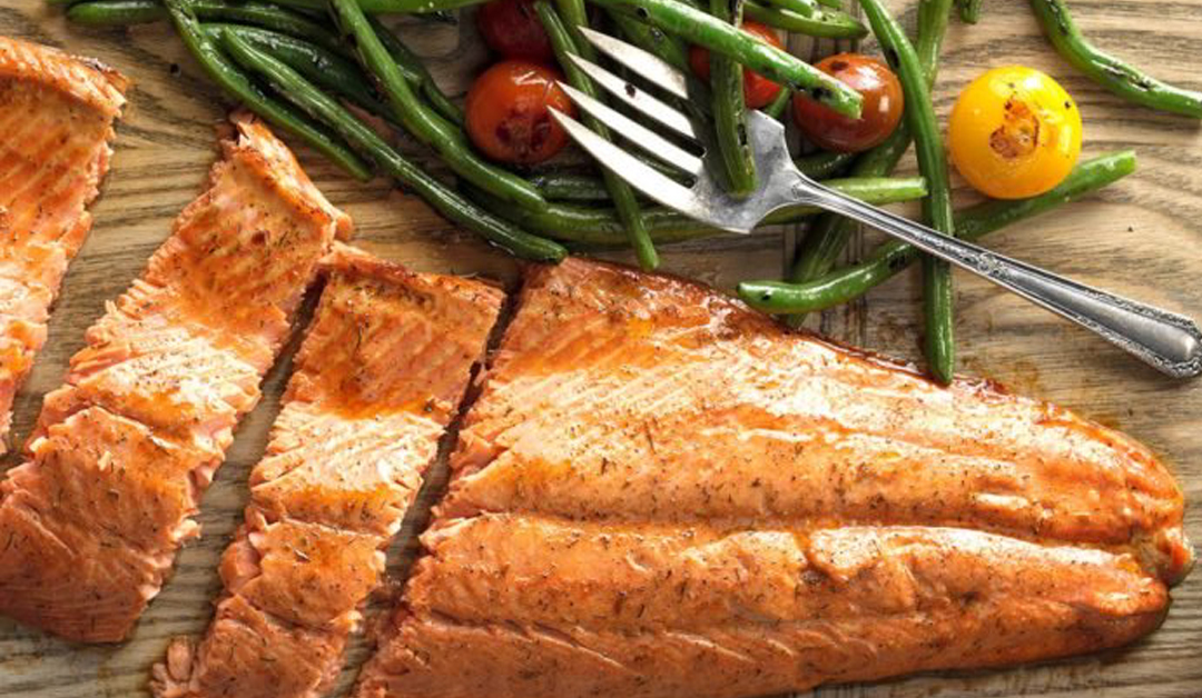 Easter Spiced Salmon Recipe