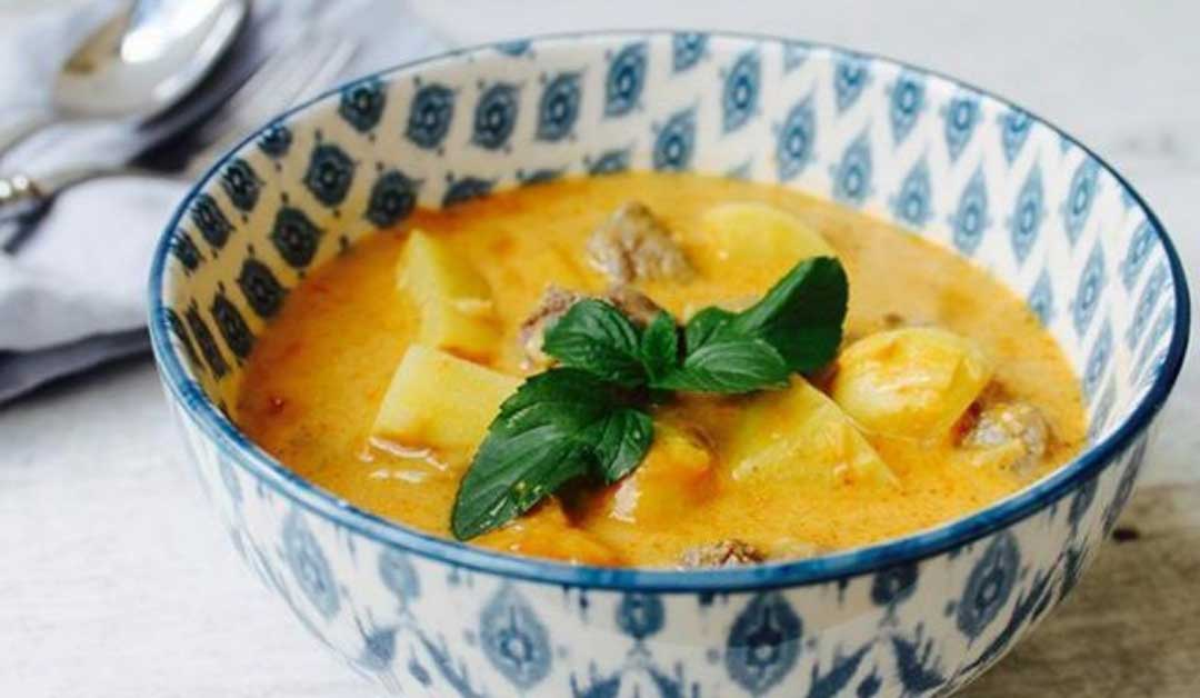 Winter Recipe – Slow Cooked Massaman Curry
